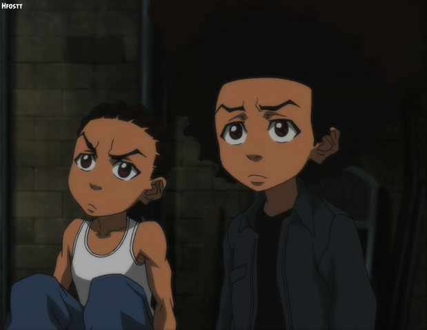 File:The Boondocks Huey and Riley 2.png