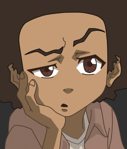 File:Huey Freeman fromthe Boondocks by stillers.png