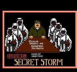 OPERATION SECRET STORM TITLE