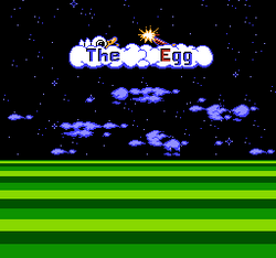The Egg - title screen