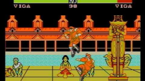 Street Fighter II (YOKO SOFT) (NES Pirate Game) Viga Longplay