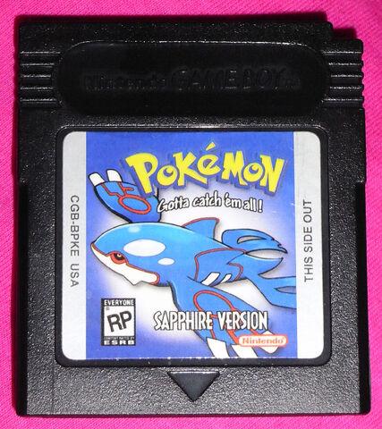 File:Pokemon Sapphire cartridge.jpg