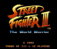 Street Fighter III Super Version (hack) 0000