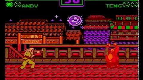 Garou Densetsu 2' (餓狼伝説2') (NES Pirate Game) Gameplay