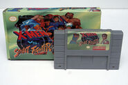 Snes X-men VS Street Fighter