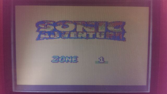 File:Other Start Screen. Sonic Adventure Zone 1
