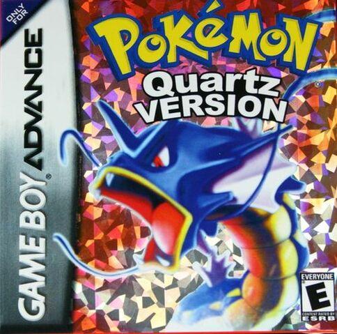 Файл:Pokemon Quartz Boxart.jpg