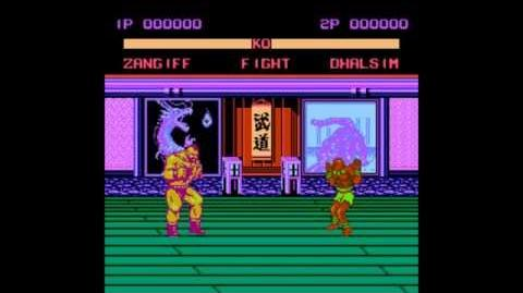 Street Fighter VI 16 Peoples (1995) (NES Pirate Game) OST'S