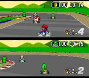 Super Mario Kart Gameplay