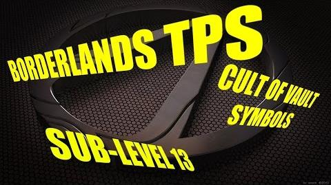 Vault Symbols-Sub-Level 13 (borderlands TPS)