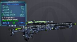 Sniper(Borderlands2) Suppressive(6shot) lvl24