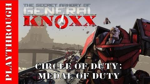 Circle of Duty Medal of Duty