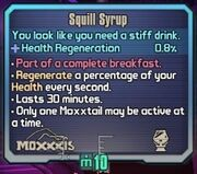 Squill syrup