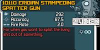 Eridian Stampeding Spatter Gun