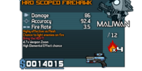 HRD Scoped Firehawk