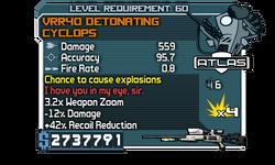 VRR40 Detonating Cyclops