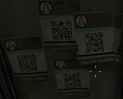 Sledge's Safe House QR Codes