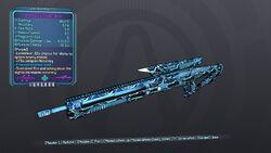 Investment Sniper Rifle 70DL Purple Cryo
