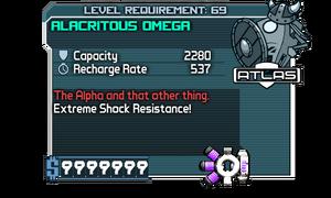 Alacritous Omega