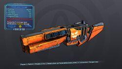 Potent Jack-o'-Cannon 70 Blue Explosive