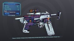 Skavenged SMG 70T Blue None