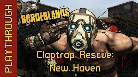 Claptrap Rescue New Haven
