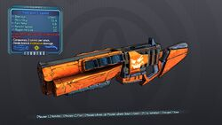Thick Jack-o'-Cannon 70 Blue Explosive