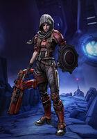 Athena the Gladiator Pose01