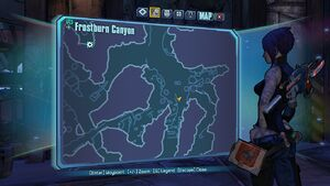Borderlands2 frostburncanyon echo 1 map