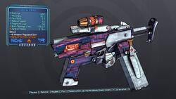 Inferno'd Spicy 70 Purple Blue Fire