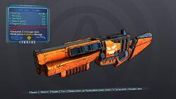 Lumpy Jack-o'-Cannon 70 Blue Explosive