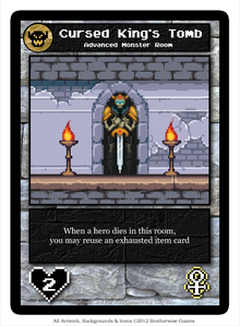 Tomb of Cursed King Custom Card by Merethif
