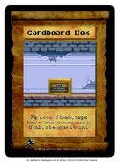 Cardboard Box Spell
