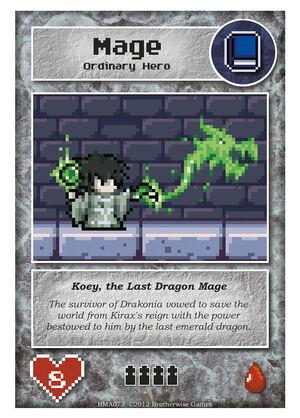 BMA073 Koey, the Last Dragon Mage