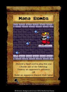 SPELL, MANA BOMBS