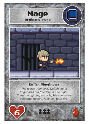 BMA071 Kalish Ninefingers