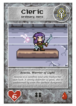 BMA058 Acacia, Warrior of Light