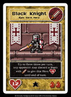 Black Knight Custom Card by JustSparky