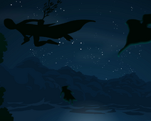 Viccans flying