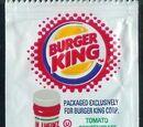 Burger King ketchup