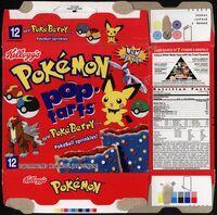 Pokemon PokeBerry Pop-Tarts box 2001