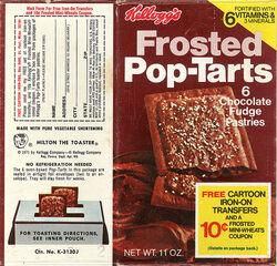 Frosted Pop-Tarts chocolate box 1977