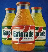 Gatorade bottles 1979