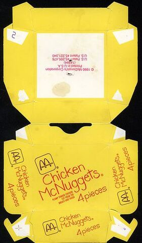 File:McDonald's Chicken McNuggets 4 piece box 1990.jpg
