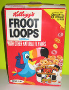 Froot Loops 1970s box