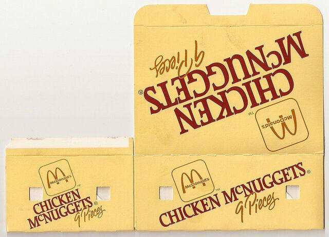 File:McDonald's Chicken McNuggets 9 piece box 1986.jpg