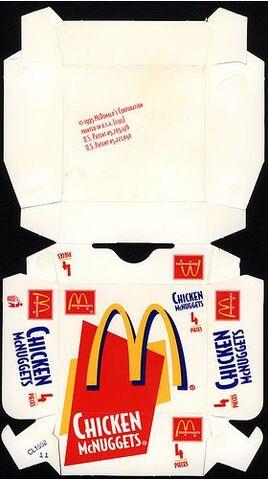 File:McDonald's Chicken McNuggets 4 piece box 1995.jpg