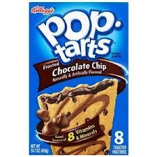 Pop tarts chocholate
