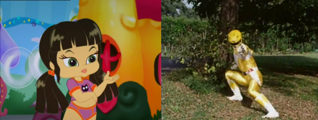 File:Jade will becomes as the 'Yellow Ranger' - to the defeat this Rita's monster, named the 'Grumble Bee' - by 76859Thomas.png