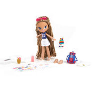 Bratz Kidz Summer Vacation Yasmin Doll